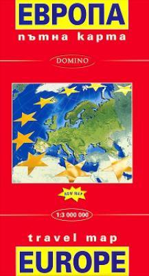 Knigimechta Com Ptna Karta Na Evropa Travel Map Europe Domino